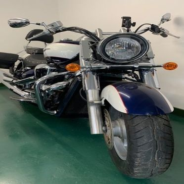 big bike front view